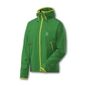 Haglöfs Boa Hood (Ginko Green, Bright Yellow)