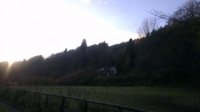 The hamlet of Bury, Somerset