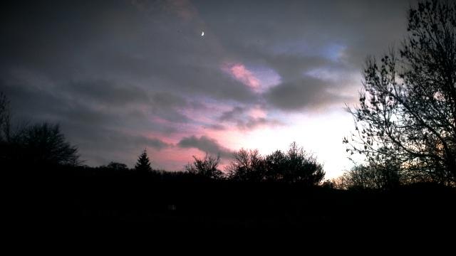 Sunset in Bury