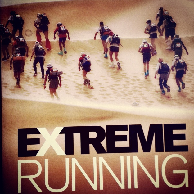 The book that started the infatuation; 'Extreme Running' by Kym McConnell & Dave Horsley
