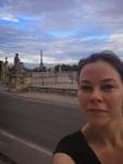 Run-selfie from Gabs in Paris.