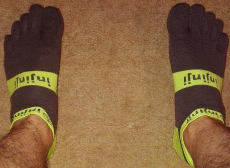 Injinji Lightweight Performance 2.0 socks