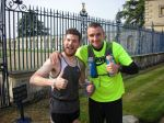 William Robertson (100 Miler) and I just before the start of the race.