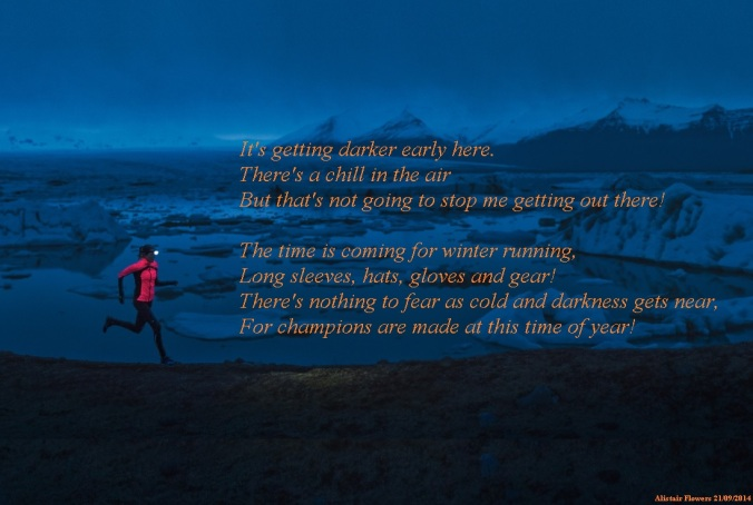 Winter Running by Alistair Flowers