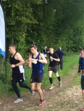 Strong finish, here I am passing 4 people (2 in shot) with 200m to go.
