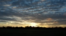 Beautiful post-race sunset.