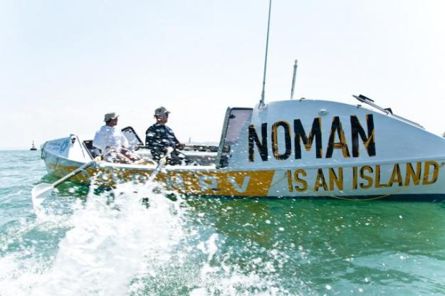 Thursday 4th June 1830-2030hrs: my first chance to row the race boat!