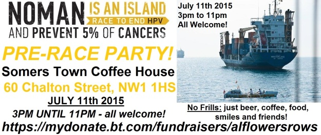 You, yes you reading this, you're invited! Come along. Have a beer. Have a chat. Learn about ocean rowing.