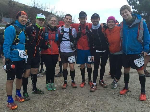 L-R: Alan (74k), Adrien (74k), Laura (54k), Me, Romain (Mara), Matthieu (74k), Christina (HM), David (74k)