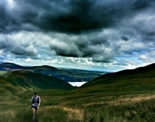 Not sure if this the climb out of Fusedale or up Gatesgarth. (Taken by Michael Harley, 86th place)