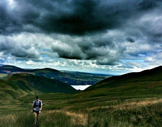 10. Climing out of Mardale Head