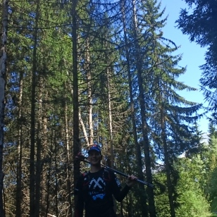 Day 4, August 25th - getting out into the mountains for a Demi Marathon de la Rédemption