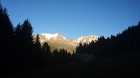 Day 1, August 22nd. Seeking out an Alpenglow sunset.