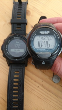TDS, August 24th - 10:46 and my day is done at Bourg Saint-Maurice