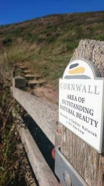 Cornwall. Most definitely an area of outstanding natural beauty!